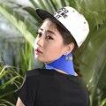 Azul color de alta calidad Turmalina Terapia Magnética Masajeador Cuello Masajeador Cervical Protección Calefacción Espontánea Cuerpo de La Correa