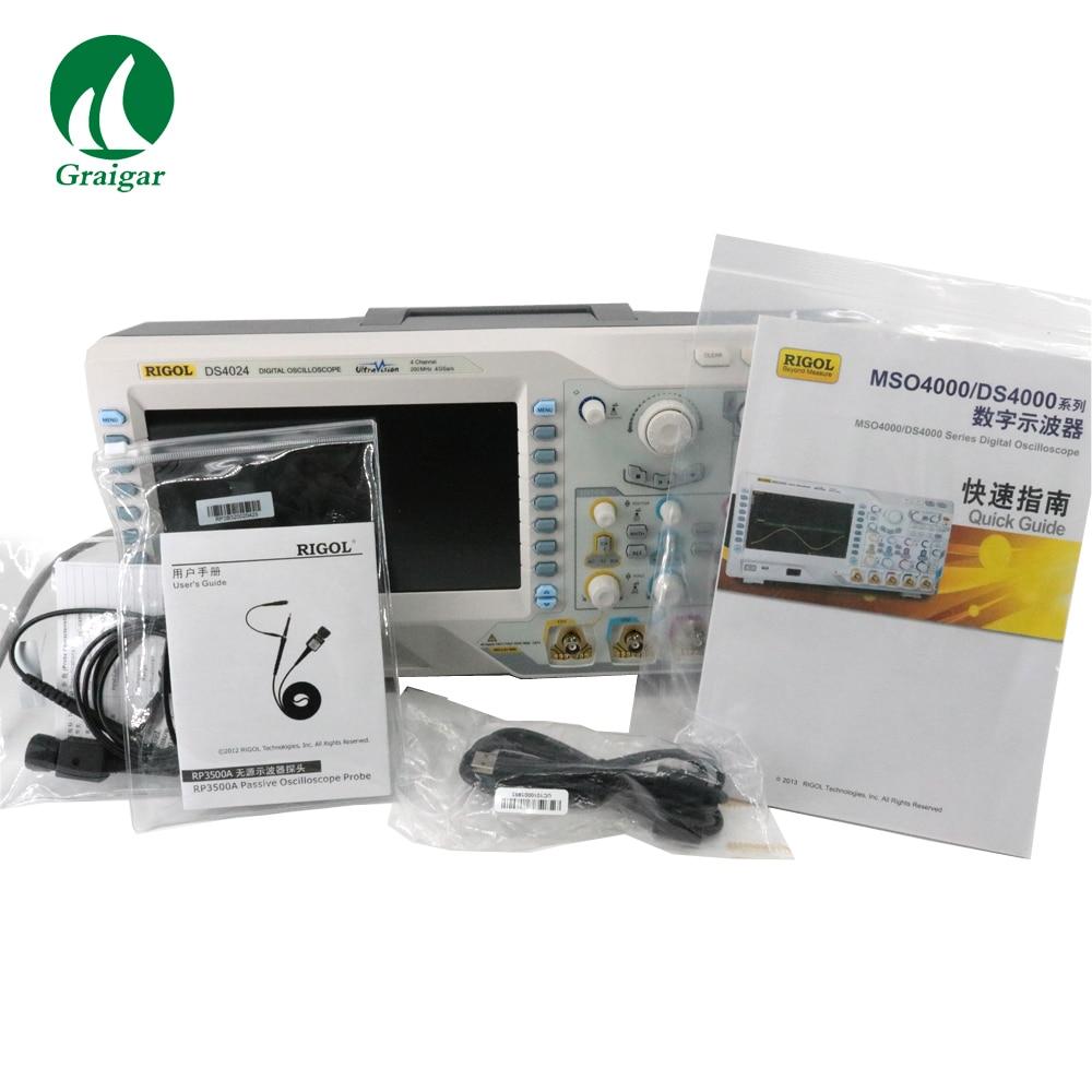 RIGOL DS4024 digital oscilloscope generation high-quality four-channel