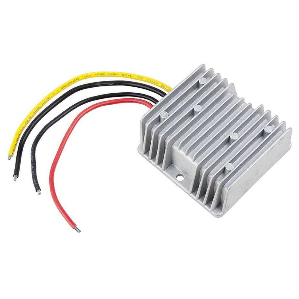 الجهد المخفض 24 فولت إلى 12 فولت 20A مقاومة للرطوبة DC محوّل خفض الجهد الكهربائي 15-40 فولت إلى 12 فولت 20A DC محول فرق الجهد