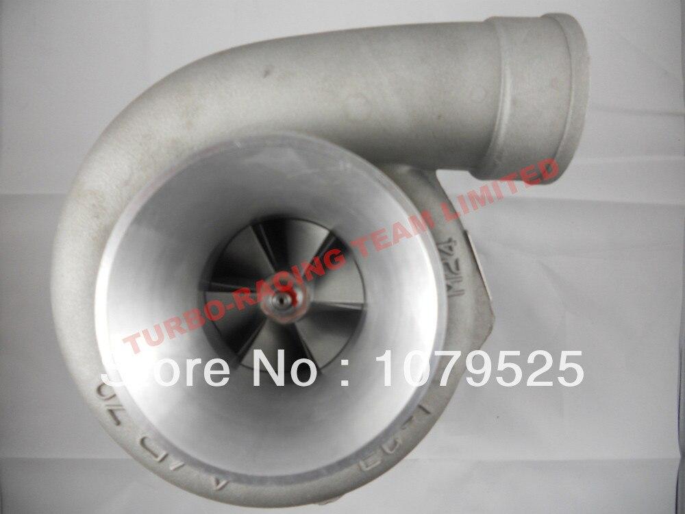 Turbocompresseur turbocompresseur GT35 T A/R. 63 C AR. 70 T3 turbocompresseur eau et huile 5 boulons 400-500hp