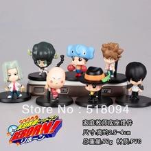 Free Shipping Hitman Reborn  Mini PVC Action Figures Toys Dolls 7pcs/set RBFG011