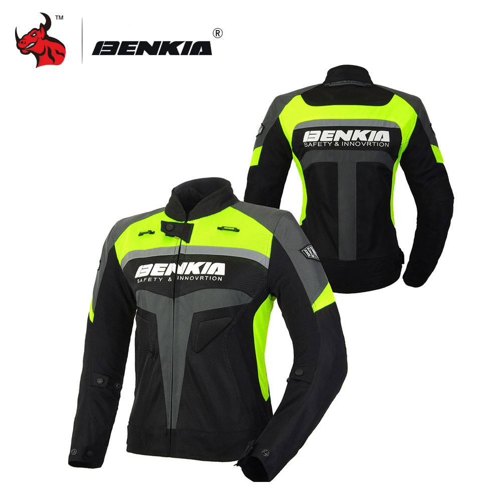 BENKIA Summer Motorcycle Jcaket Women Racing Clothes Spring And Autumn Mesh Breathable Riding Jackets Motorcycle стоимость