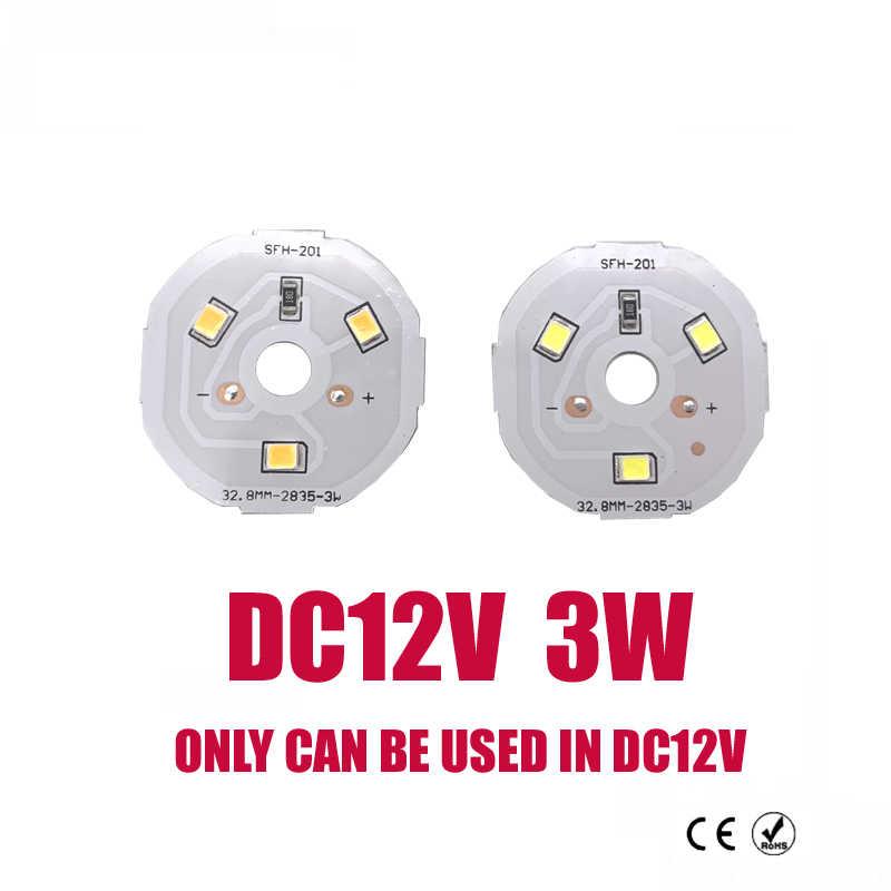 Nouveau DC12V lampe à LED puce 3W 6W 9W 12W 15W LED COB ampoule lampe DC12V Smart IC pilote froid chaud blanc LED projecteur projecteur puce