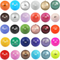 30 Colors 16mm Jingle Bell Party Women Belly Jewelry Wholesale Chime Bola Pendant Mexico Bola Baby Shower Angel Bola Men Joyas