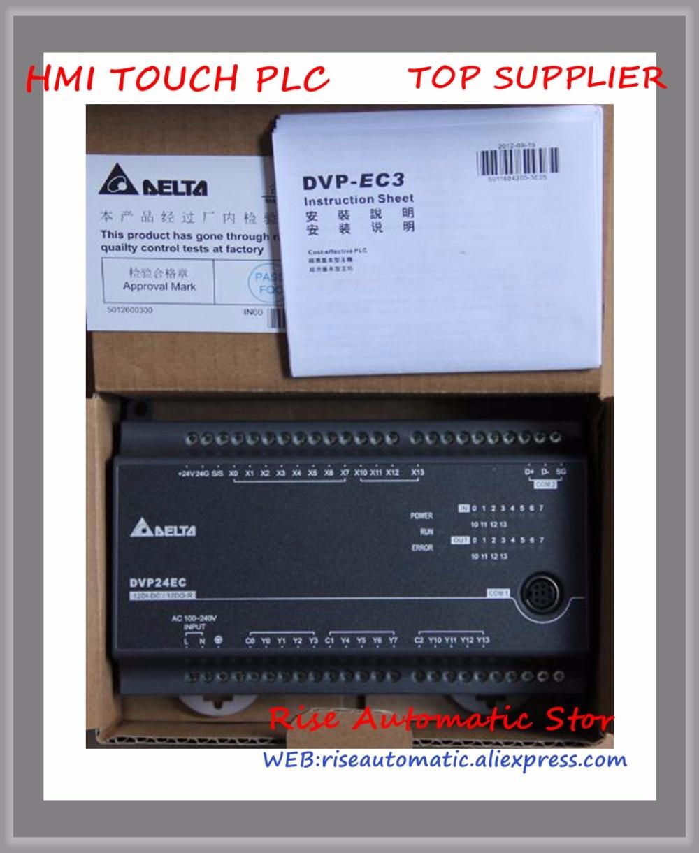New Original DVP24EC00R2 DVP24EC00R3 PLC DI 12 DO 12 Relay 100-240VAC 100% test good quality new original programmable controller ec3 series standard plc module di 8 do 8 relay dvp16ec00t3 dvp16ec00r3 100 240vac