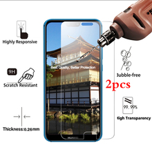 2Pcs/lot Tempered Glass For Huawei P20 Honor 10 Screen Protector 9H 2.5D Phone On Protective Glass For Huawei Honor 10 film все цены