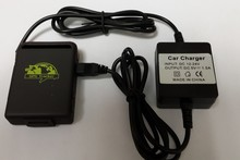 new gps tracker tk102B car charger battery free shipping