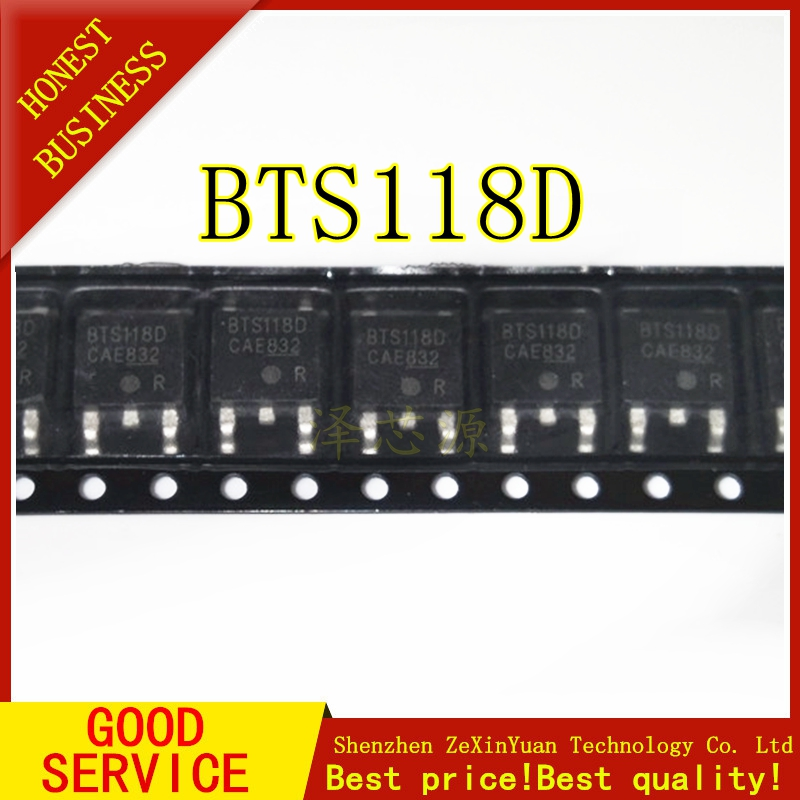 30PCS BTS118D BTS118 TO-252 Best quality image