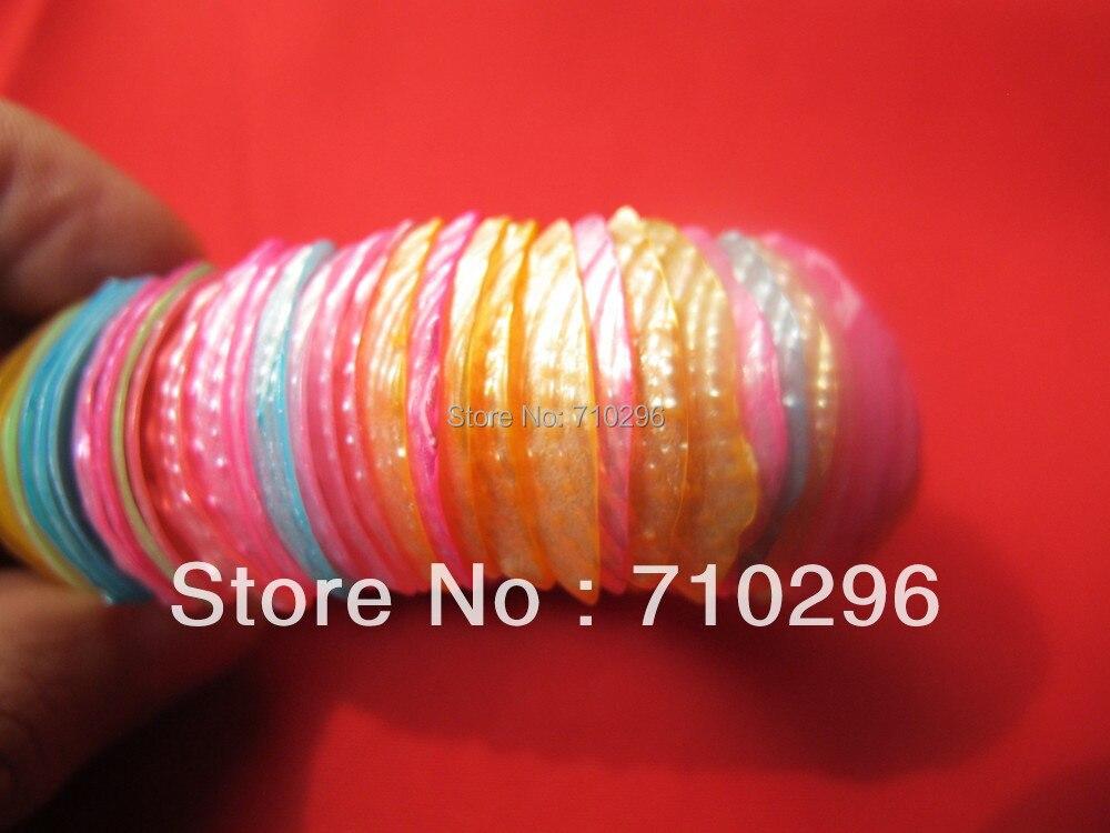 Fashion jewelry bracelets Natural Multicolor shell jewelry bracelets 10pcs/lot nice jewlery