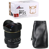 Kelda 8mm F/3.5 F3.5 Ultra Wide Fisheye camera LENS for canon 60d 650d 700d 750D 600d 550d 500d 1000d 1200D 1300D 70D 760D 80D