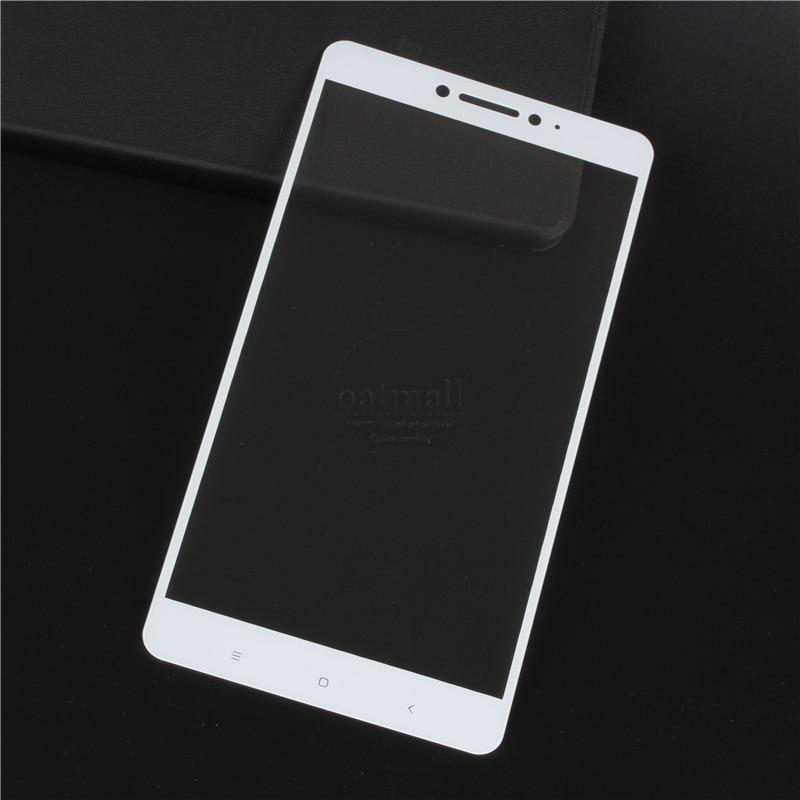 Película de vidrio templado de protección de pantalla completa de 0.26 mm para Xiaomi MI MAX 2 Protector de pantalla de vidrio en Xaomi Xiomi Max 1 3 Pro Shield