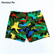 hot deal buy men's board shorts trunks 2019 new arrival beach shorts camouflage printing boy splicing frenulum bathing shorts a18150