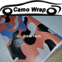 Car Styling Adhesive Sticker Camouflage Film Vinyl Wrap Truck Motorcycle Car Camo Wrapping Foil With Air Bubble Free