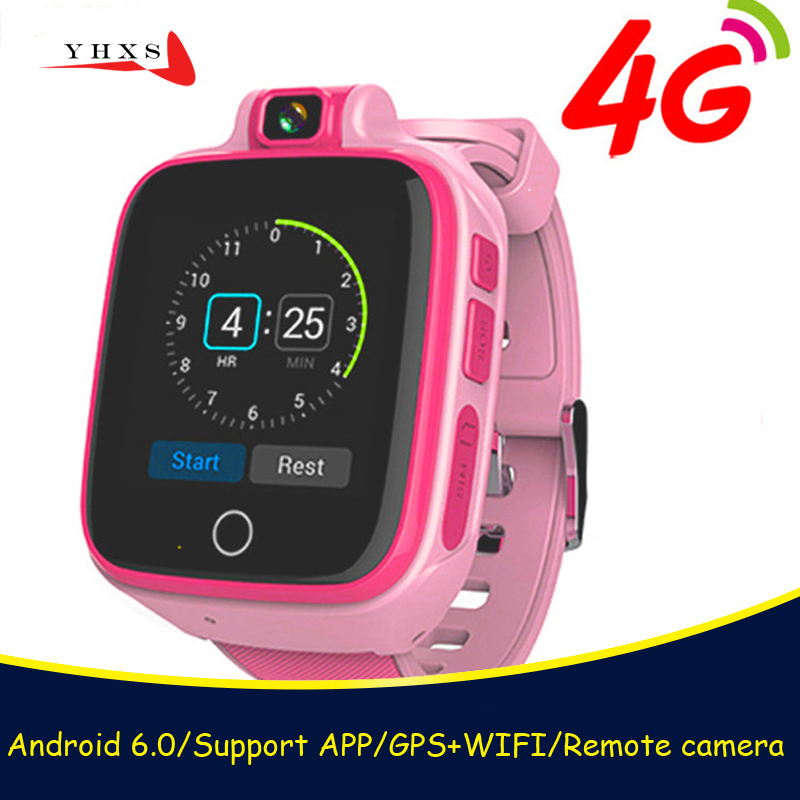 Smart Watch Child Safe Monitor GPS Tracker Kids Android IOS Waterproof Baby SOS Remote Monitor Camera SIM 4G Network Wristwatch new smart watch children safe monitor gps sports track waterproof android q402 wristwatch kid baby camera support sim 4g network