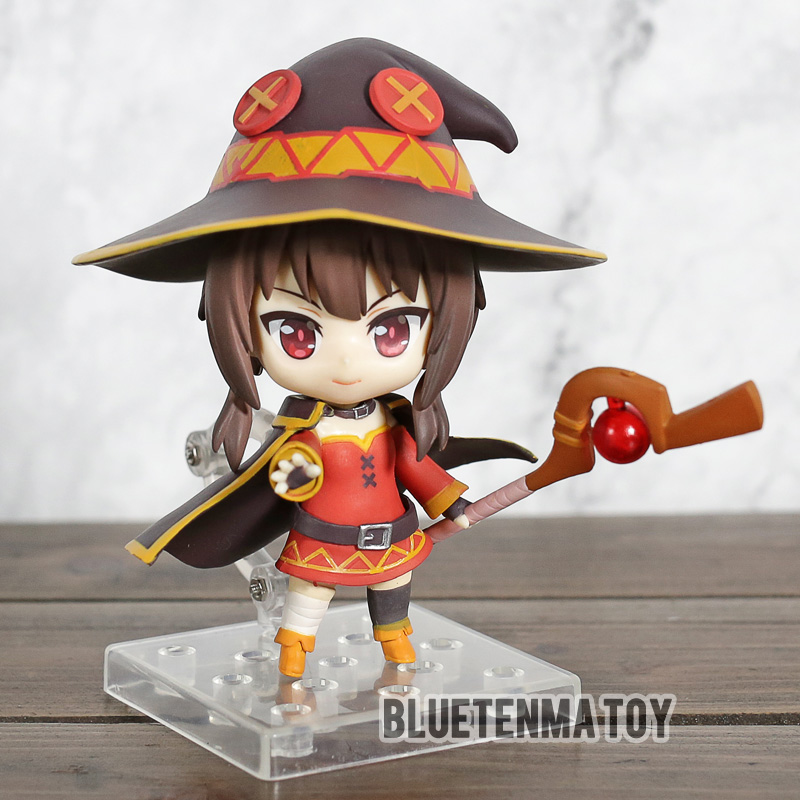 Comic Anime KonoSuba God's Blessing on This Wonderful World 2 Megumin Nendoroid 725 # Action Figure Toys-in Action & Toy Figures from Toys & Hobbies