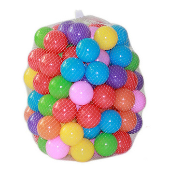 Eco-Friendly Colorful Soft Water Pool Ocean Wave Ball Pits Baby Funny Toys Stress Air Ball Kids Outdoor Fun Sports Dia 5.5cm 100