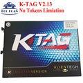 Más reciente KTAG K-TAG V2.13 Firmware 6.070 Tokens No Limiation K TAG ECU Programación ECU de la Viruta Tunning KTAG 6.070 Envío Gratis
