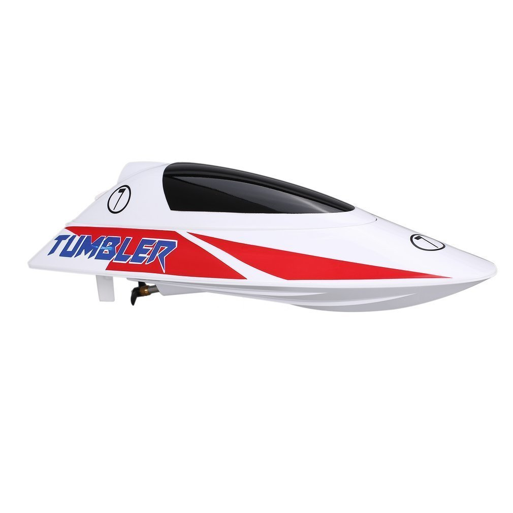 TUMBLER V796-1 25km/h 2.4G Brushed High Speed RC Racing Boat Speedboat Ship with Water Cooling System Self-righting Kids GiftTUMBLER V796-1 25km/h 2.4G Brushed High Speed RC Racing Boat Speedboat Ship with Water Cooling System Self-righting Kids Gift