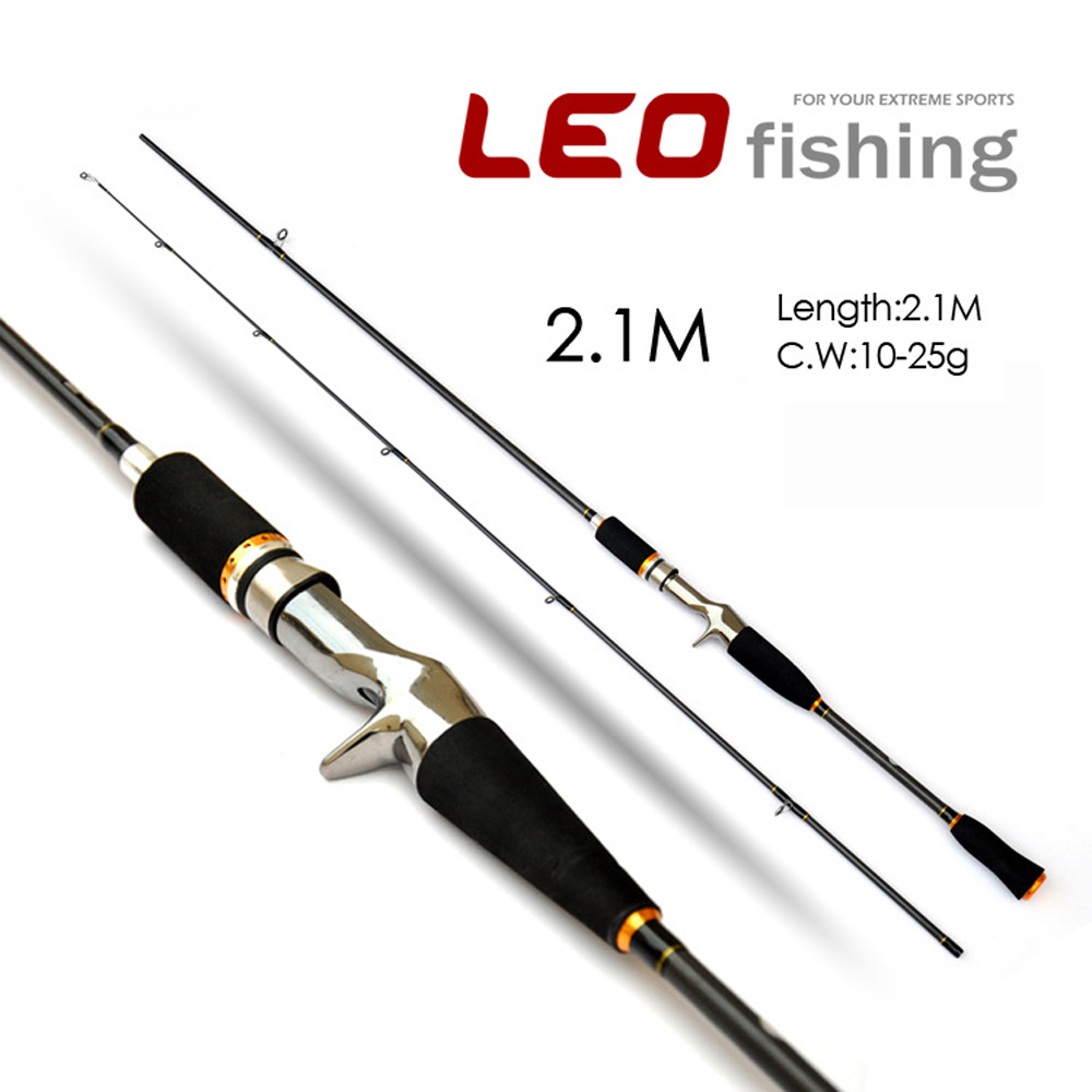LEO Carbon Gun Handle Lures Fishing Rod 1.8M - Fishing