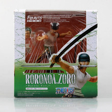 Anime One Piece Roronoa Zoro PVC Doll Action Figure Model Toy 12cm With Box Free Shipping