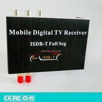 Car ISDB T Full Seg HD 1080P HDMI Digital CVBS Mobile Digital TV Receiver Mobile MPEG4 Digital TV Tuner HD Receiver Box Set