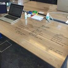50 см* 200 см прозрачная пленка для доски самоклеящаяся пленка для письма 20 ''x 78,74'' высокое качество