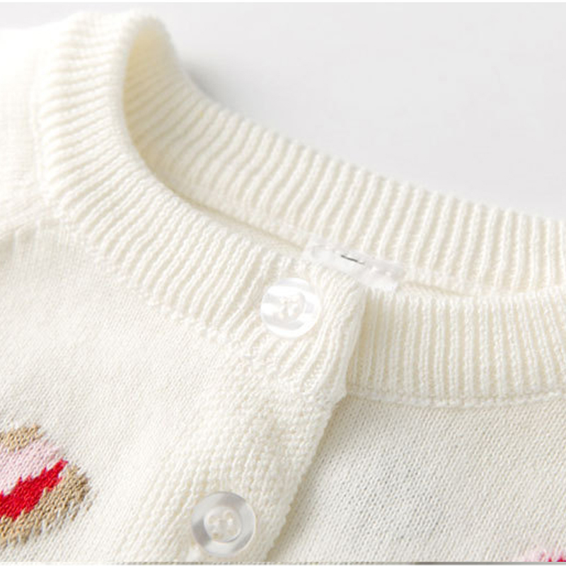 b539efb80 Aliexpress.com   Buy girls cardigan cotton spring sweaters 2018 ...