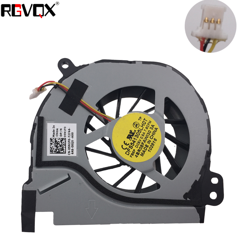 Laptop CPU Cooling Fan for DELL Inspiron 14R 5420 7420 M421R V3460 MF75120V1-C120-G99 05N1F0 5N1F0 DC5V 0.38A New and Original