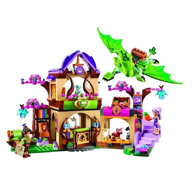 Bela 10504 694 Pcs Elves The Secret Market Place Building Kit Figures Building Block Girl Toys for Children Gift бриджстоун дуэлер 694 в екатеринбурге