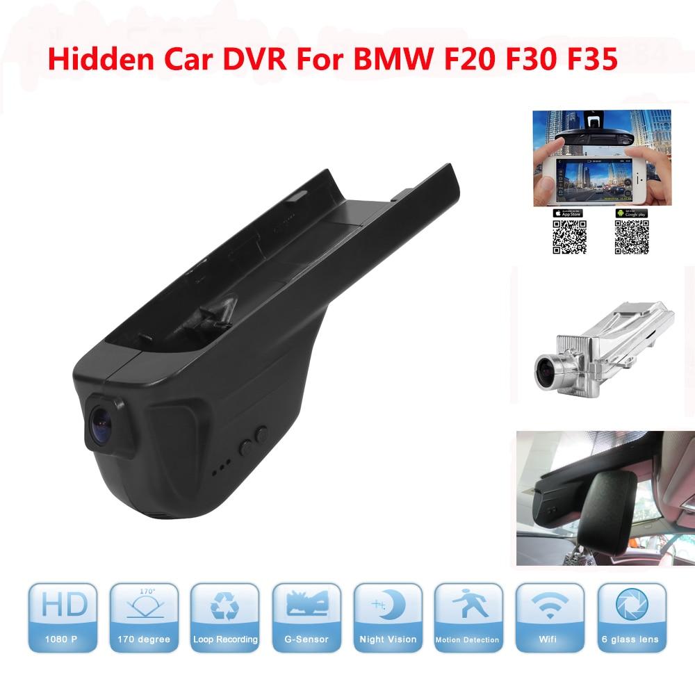 Hidden Car DVR for BMW Car low spec F20 F30 F35 Support APP Control Novatek 96655 Use SONY 322 Sensor Camcorder Dash Camera