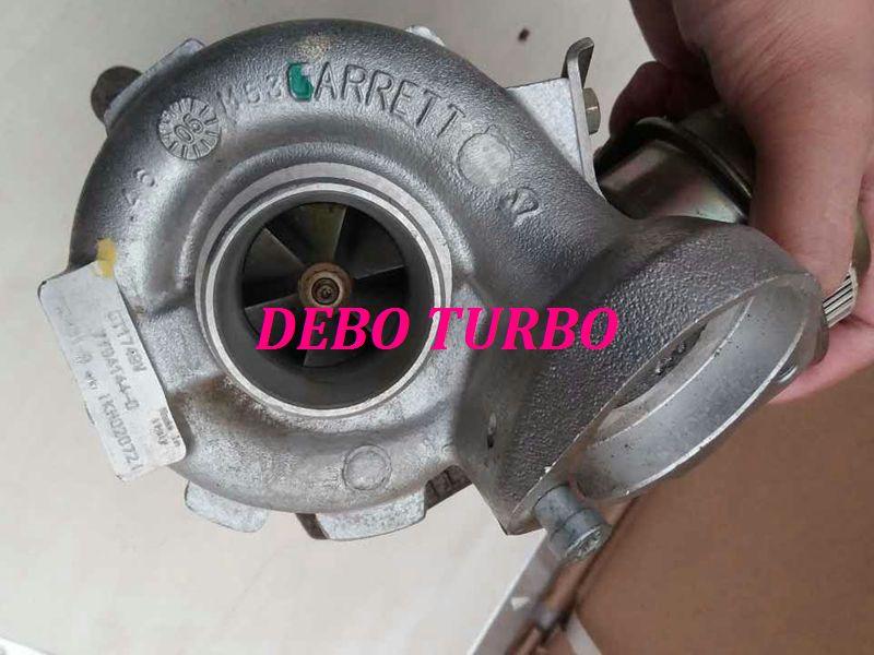 NOUVEAU VÉRITABLE GARRETT GT1749V 750431-5012 S Turbo Turbocompresseur pour 120D, 320D E46, 520D X3 E83 E83N M47TU 2.0L 147HP 150HP 01-03