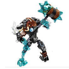 цена на 2017 New KSZ 815-4 Bionicle Robot DIY kids boys Building Block Toys gifts Action Figure Compatible With Chimo Mungus XD138