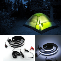 Waterproof Camping Lantern 60cm LED Strip 5050 Light Dimmable Tent Lamp for Hiking in Night Outdoor Lighting with Battery
