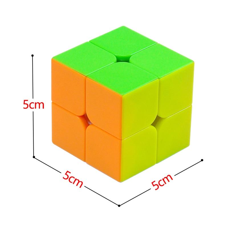 Cubos Mágicos qiyi 2x2x2 3x3x3 4x4x4 5x5x5 Sticker : Stickerless Fidget Cube
