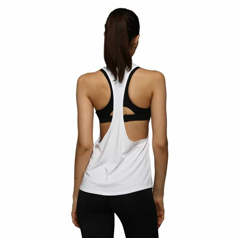 be9bd63be49ef ... Summer Women Tank Tops Dry Quick Yoga Shirts Loose Gym Fitness Sport  Sleeveless Vest Singlet for ...
