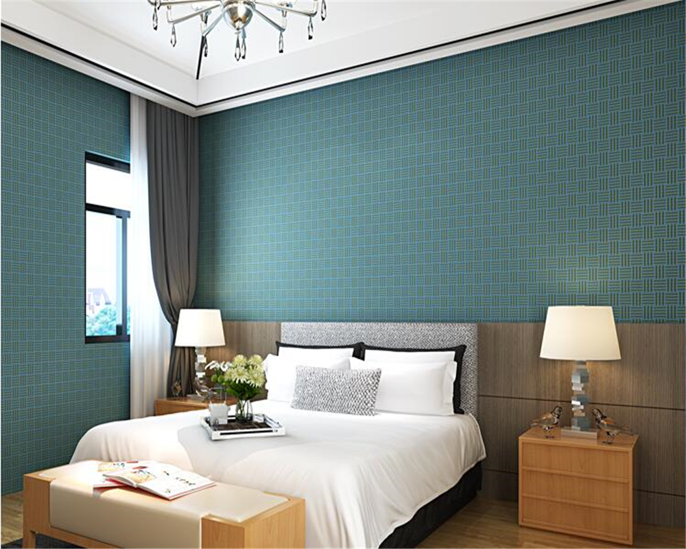 plain simple living bedroom solid papel beibehang nonwoven straw paper parede wallpapers