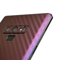 Luxury Smart Phone Sticker For Samsung Galaxy Note 9 Gradient Carbon Fiber Protective Film For Samsung Note 9 Stickers EEMIA