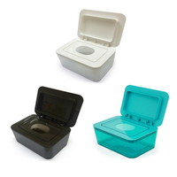 Topsky Hygienic Wet Tissue Box,Baby Sealed Paper,Lady's Makeup Remover,Wet Napkin Box Home,Tissue Holder Accessories
