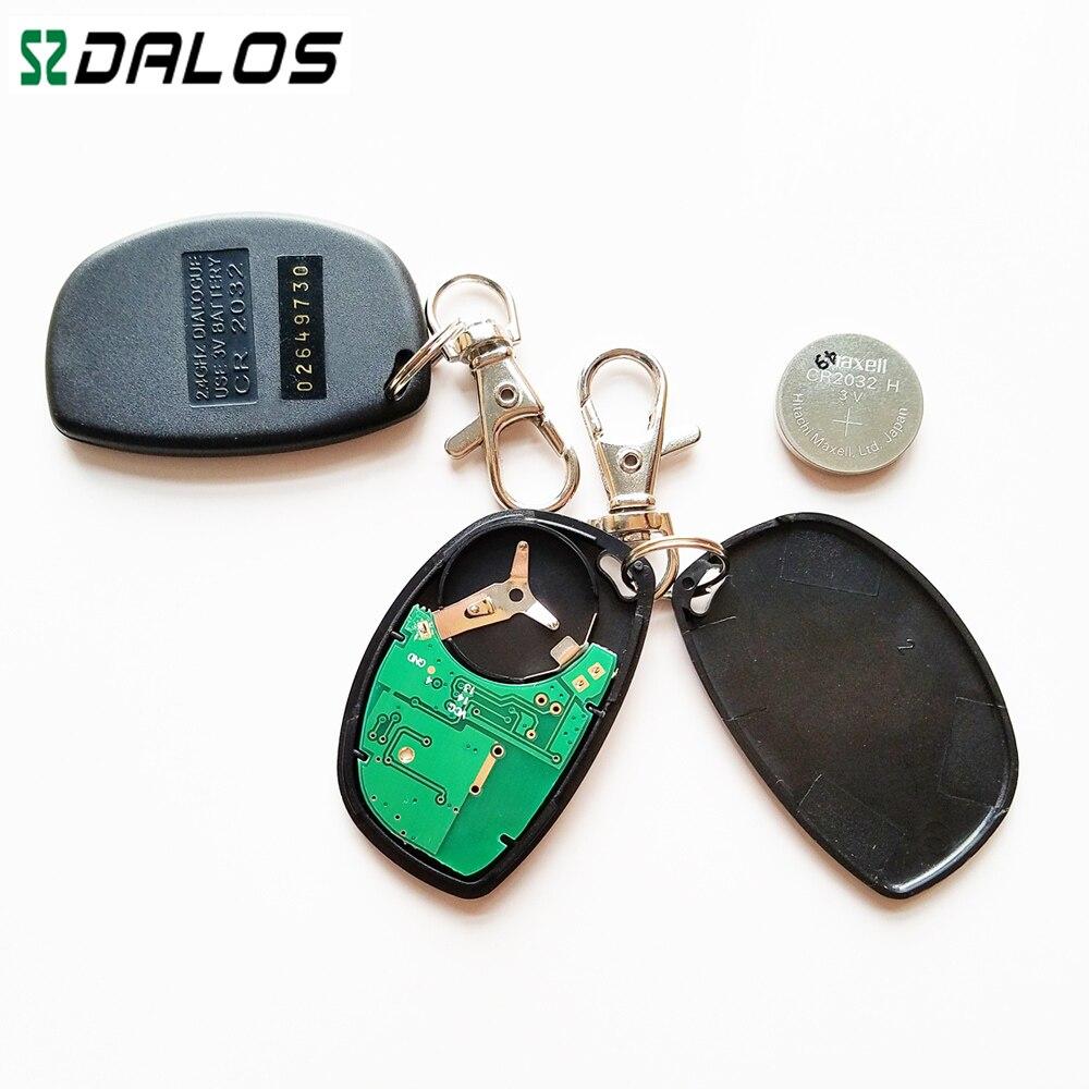 Alarme de voiture alarme automatique RFID 2.4 GHz système d'immobilisation de voiture avec capteur d'accéléromètre de haute qualité - 3