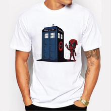Doctor Who Deadpool T-Shirt