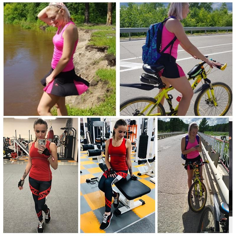 New Yoga Tops femmes sexy Gym sport Gilet Fitness Vêtements femme - Sportswear et accessoires - Photo 2