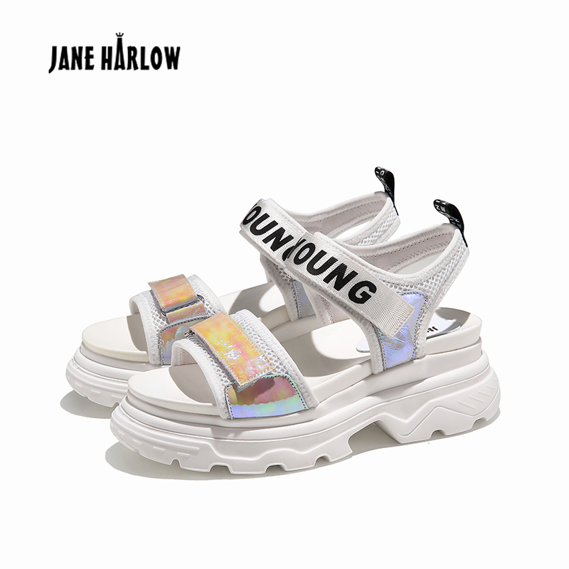 JANE HARLOW 2019 summer new Open Toe Hook and Loop Beach Walking Sports Sandals Washable Quick Dry Slingback Water Sandal ShoesJANE HARLOW 2019 summer new Open Toe Hook and Loop Beach Walking Sports Sandals Washable Quick Dry Slingback Water Sandal Shoes