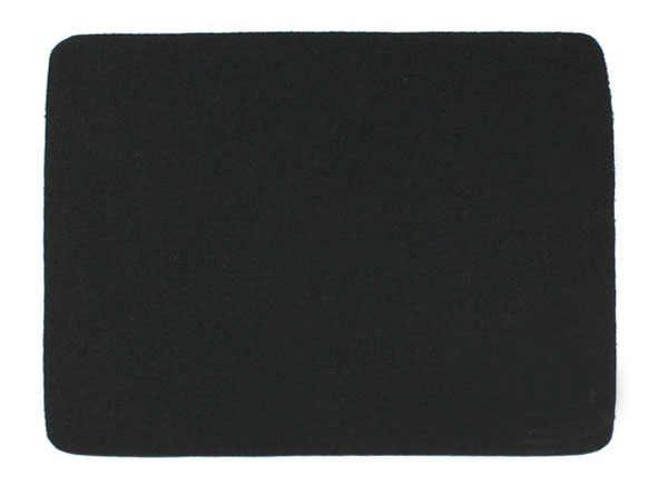 22*18 センチユニバーサルマウスパッドマットのラップトップコンピュータ、タブレット Pc 黒ゲーミングマウスパッドゲーマー無地ロックエッジキーボード