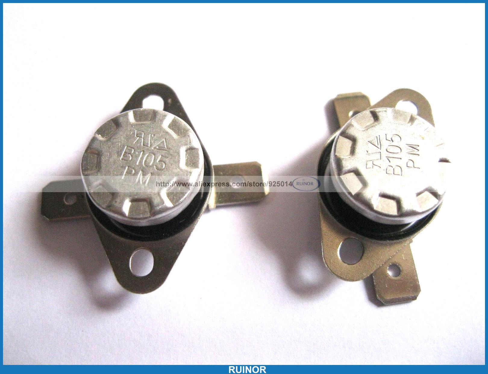 ФОТО 50 Pcs Temperature Switch Thermostat 105Degree N C KSD301