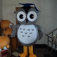 giant grey adult owl costume owl mascot costume