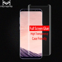 3D Full Adhesive Screen Protector For Samsung Galaxy S8 Note 8 Full Glue Tempered Glass Case