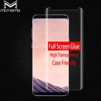 3D Volledige Lijm Screen Protector Voor Samsung Galaxy S8 Note 8 volledige Lijm Gehard Glas Case Vriendelijke Voor Samsung S8 Plus Glas