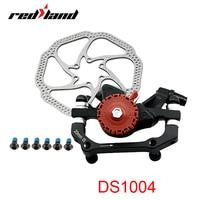 RED LAND Bicycle Disc Brakes MTB Bike Brakes Pad 160mm System Disc Bike Part Bicycle Accessories