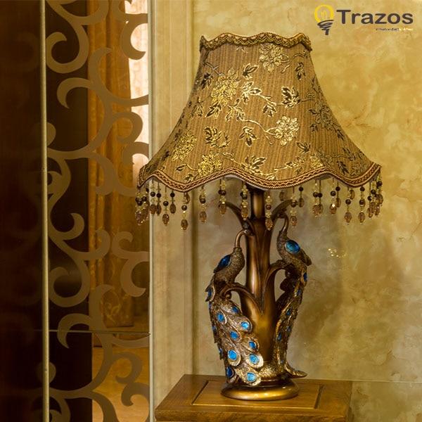 2017 Lampara Led Escritorio New Luxury Table Lamp Romantic Rose Modern Luminaria De Mesa Home Abajur Para Quarto For Living Room бюстгальтер 2015 intimates sutian abajur para quarto