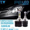 2pcs Car Styling LED Headlight 5202 9012 D1S D2S D3S D4S H15 6000K LED 110W 10400Lm